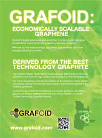Grafoid Raises USD $3.5M Through A Private Financing