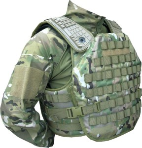 Graphene bullet proof vest
